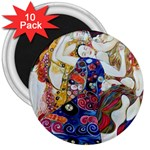 the_virgin__gustav_klimt_copy. 3  Magnet (10 pack)
