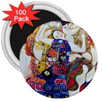 the_virgin__gustav_klimt_copy. 3  Magnet (100 pack)