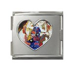 the_virgin__gustav_klimt_copy. Mega Link Heart Italian Charm (18mm)