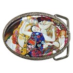 The Virgin Gustav Klimt  Fine Art Belt Buckle