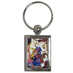 The Virgin Gustav Klimt . Key Chain (Rectangle)