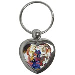 the_virgin__gustav_klimt_copy. Key Chain (Heart)