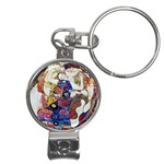 the_virgin__gustav_klimt_copy. Nail Clippers Key Chain