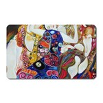 the_virgin__gustav_klimt_copy. Magnet (Rectangular)