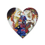 the_virgin__gustav_klimt_copy. Magnet (Heart)