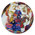 the_virgin__gustav_klimt_copy. Magnet 5  (Round)