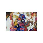 the_virgin__gustav_klimt_copy. Sticker Rectangular (10 pack)