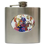 the_virgin__gustav_klimt_copy. Hip Flask (6 oz)
