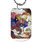 the_virgin__gustav_klimt_copy. Dog Tag (Two Sides)