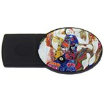 the_virgin__gustav_klimt_copy. USB Flash Drive Oval (1 GB)