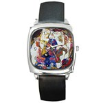 the_virgin__gustav_klimt_copy. Square Metal Watch