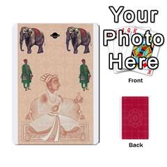 Taj Mahal Colour Blind Deck 2 By Graham Dean Front - Spade4