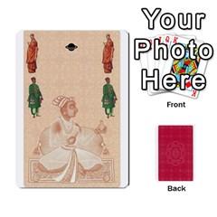 Taj Mahal Colour Blind Deck 2 By Graham Dean Front - Heart9