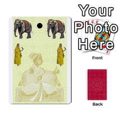 Taj Mahal Colour Blind Deck 2 By Graham Dean Front - Diamond2