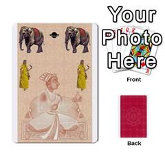 Taj Mahal Colour Blind Deck 2 By Graham Dean Front - Spade9