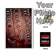 Queen Zombie In My Pocket By Juanjosé Martínez Gil   Playing Cards 54 Designs   04z1wga8tnqh   Www Artscow Com Front - ClubQ