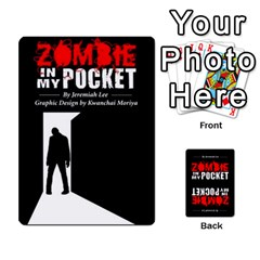 Zombie In My Pocket By Juanjosé Martínez Gil   Playing Cards 54 Designs   04z1wga8tnqh   Www Artscow Com Front - Joker2