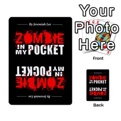 Zombie In My Pocket By Juanjosé Martínez Gil   Playing Cards 54 Designs   04z1wga8tnqh   Www Artscow Com Back