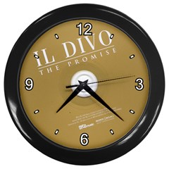 roundivo Wall Clock (Black) by nidsam1491319