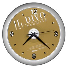 roundivo Wall Clock (Silver) by nidsam1491319