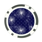 Fireworksbkgrd2 Poker Chip Card Guard