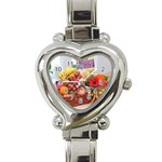 99 Heart Italian Charm Watch