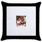 39 Throw Pillow Case (Black)