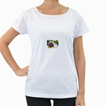 43 Maternity White T-Shirt
