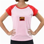 77 Women s Cap Sleeve T-Shirt