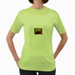 77 Women s Green T-Shirt