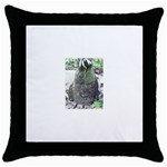 66 Throw Pillow Case (Black)
