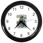 66 Wall Clock (Black)