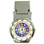 zodiac clock face 340 Money Clip Watch