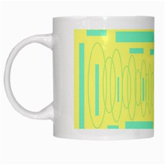 yellow mug White Mug by mugart