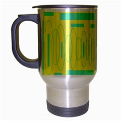 yellow mug Travel Mug (Silver Gray) by mugart