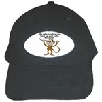 Rally Monkey Black Cap