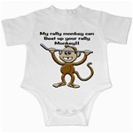 Rally Monkey Infant Creeper