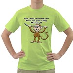 Rally Monkey Green T-Shirt