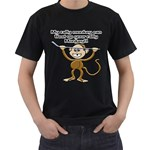 Rally Monkey Black T-Shirt