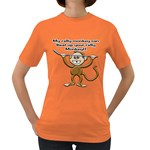 Rally Monkey Women s Dark T-Shirt