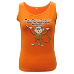 Rally Monkey Women s Dark Tank Top