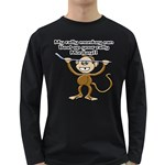 Rally Monkey Long Sleeve Dark T-Shirt