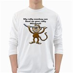 Rally Monkey Long Sleeve T-Shirt