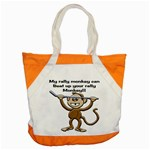 Rally Monkey Accent Tote Bag