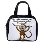 Rally Monkey Classic Handbag (One Side)