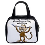 Rally Monkey Classic Handbag (Two Sides)