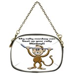 Rally Monkey Cosmetic Bag (One Side)