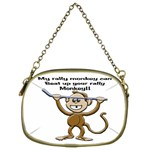 Rally Monkey Cosmetic Bag (Two Sides)