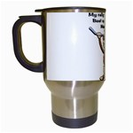 Rally Monkey Travel Mug (White)