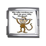 Rally Monkey Mega Link Italian Charm (18mm)